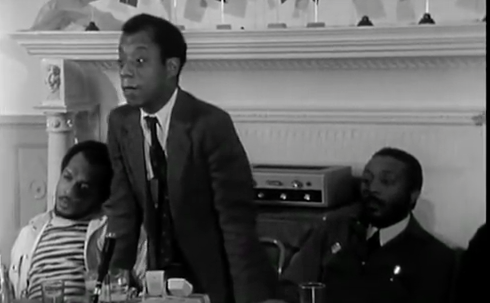 Dick Gregory and James Baldwin