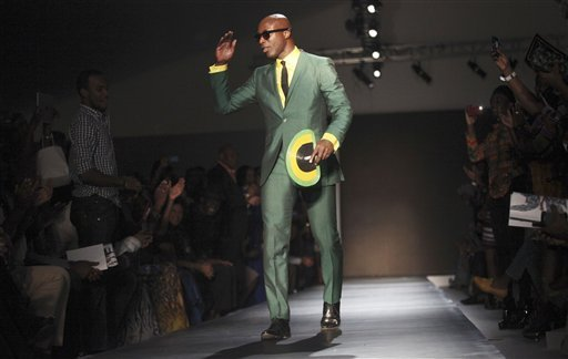 THE AMFW 2012 ROADSHOW MOVES ON TO NEW YORK AFTER ITS SUCCESSFUL LAGOS EXTRAVAGANGZA.