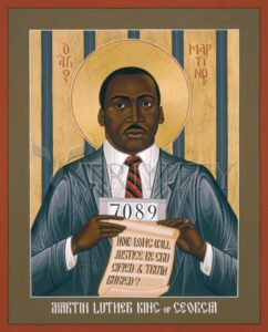 Martin Luther King of Georgia by Br. Robert Lentz OFM
