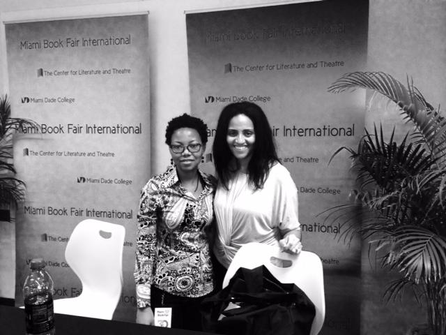 NoViolet Bulawayo and Melissa Hunter Davis