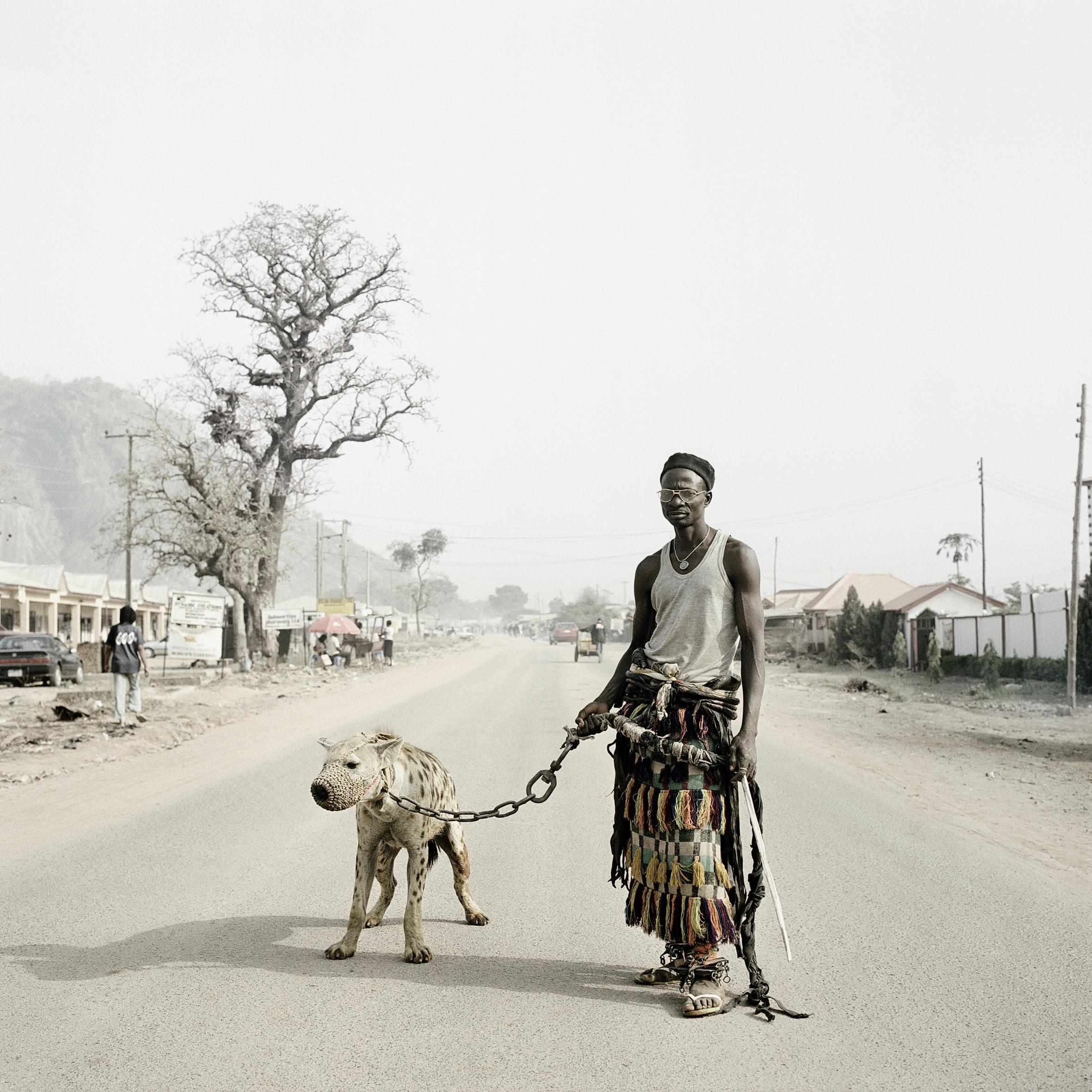 Pieter Hugo - Mallam Galadima Ahmadu with Jamis, Abuja Nigeria  from the Stevenson Gallery South Africa