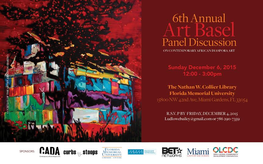 """African and African-American artists will discuss Why """"Black Art Matters"""" In 6th annual Art Basel panel on Contemporary African Diaspora art"""
