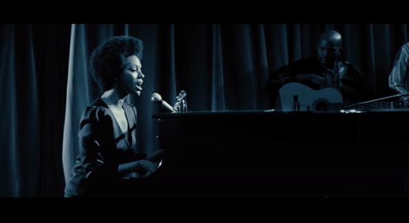 Nina Simone by Zoe Saldana
