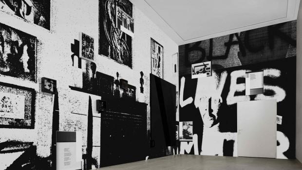 Artist: Adam Pendleton - Black Lives Matter, Belgian Pavillion, 56th Venice Beinnale, 2015