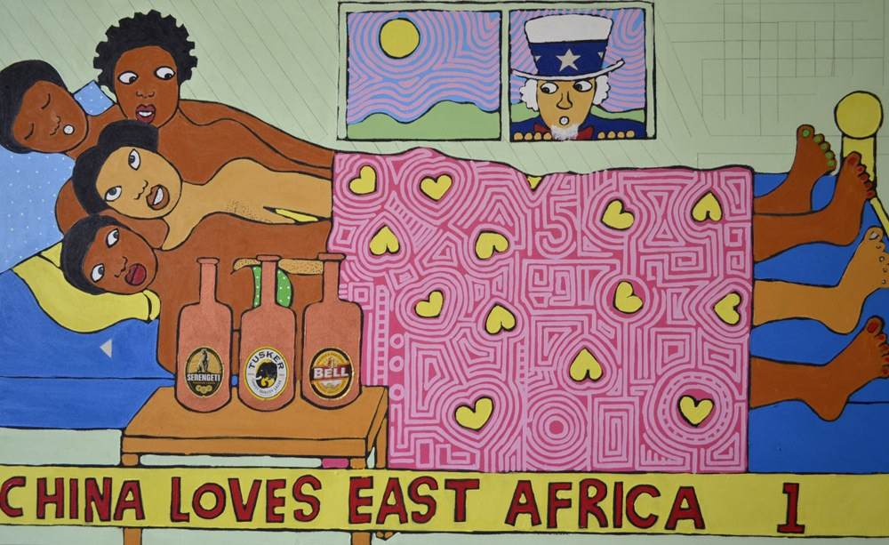 In the news: Africa's newest art collectors? China ( duh)