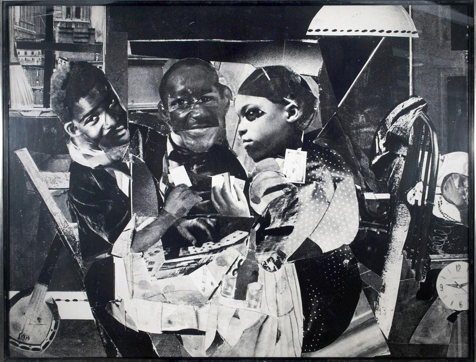 DC Moore Gallery Romare Bearden  Evening 9:10 461 Lenox Avenue, 1964