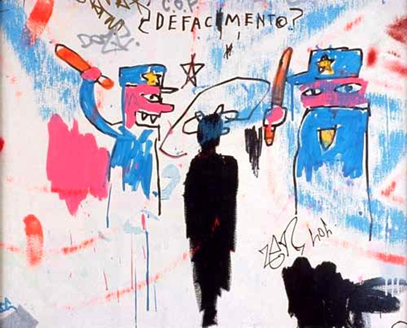"Basquiat ""Defacement"""