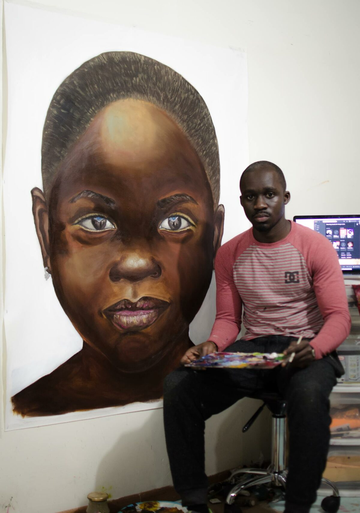 Painting our stories: An interview with Solomon Adufa