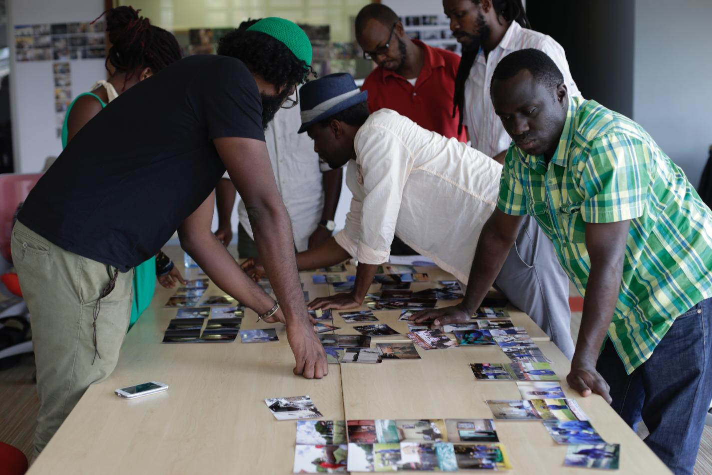 The group from the second satellite masterclass in East Africa during an editing session. © World Press Photo. Sugarcane Magazine does not claim ownership of this photo.