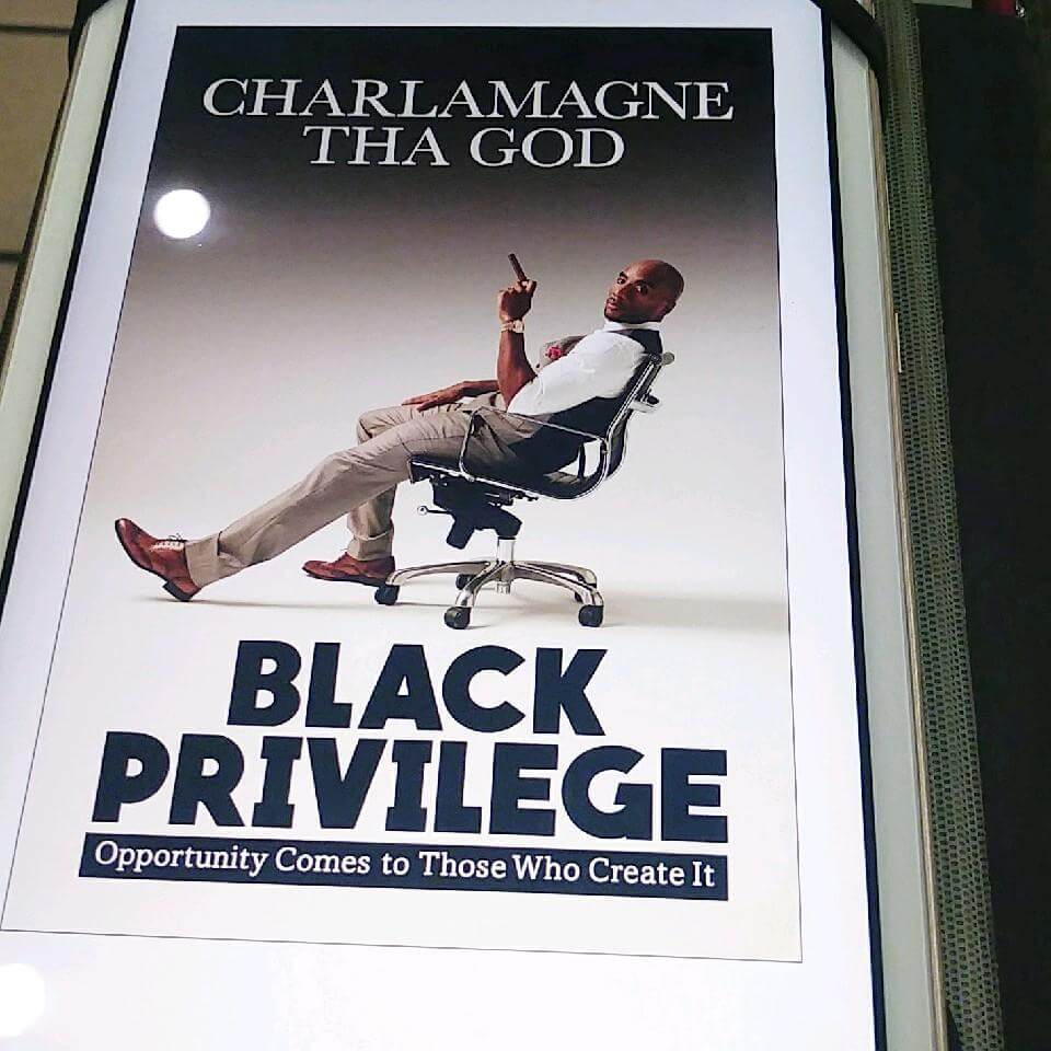 Urban Shock Jock and MTV2 Host Charlamagne Tha God Steps Up For His Community with Black Privilege: Opportunity Comes to Those Who Create It