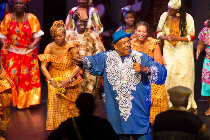 Delou Africa Honors Baba Chuck Davis at DanceAfrica Miami