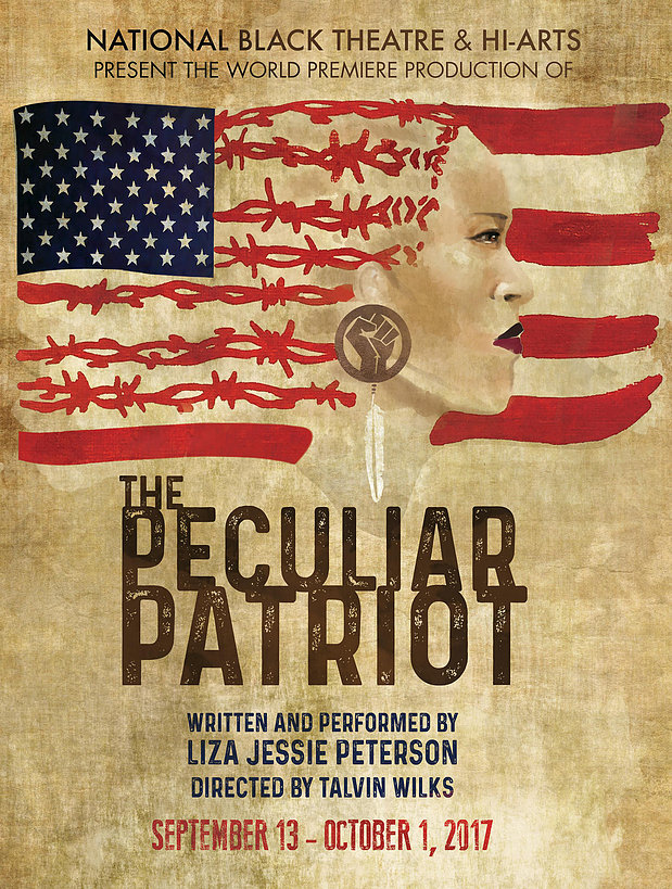 'The Peculiar Patriot' to Fly Its Flag at National Black Theatre