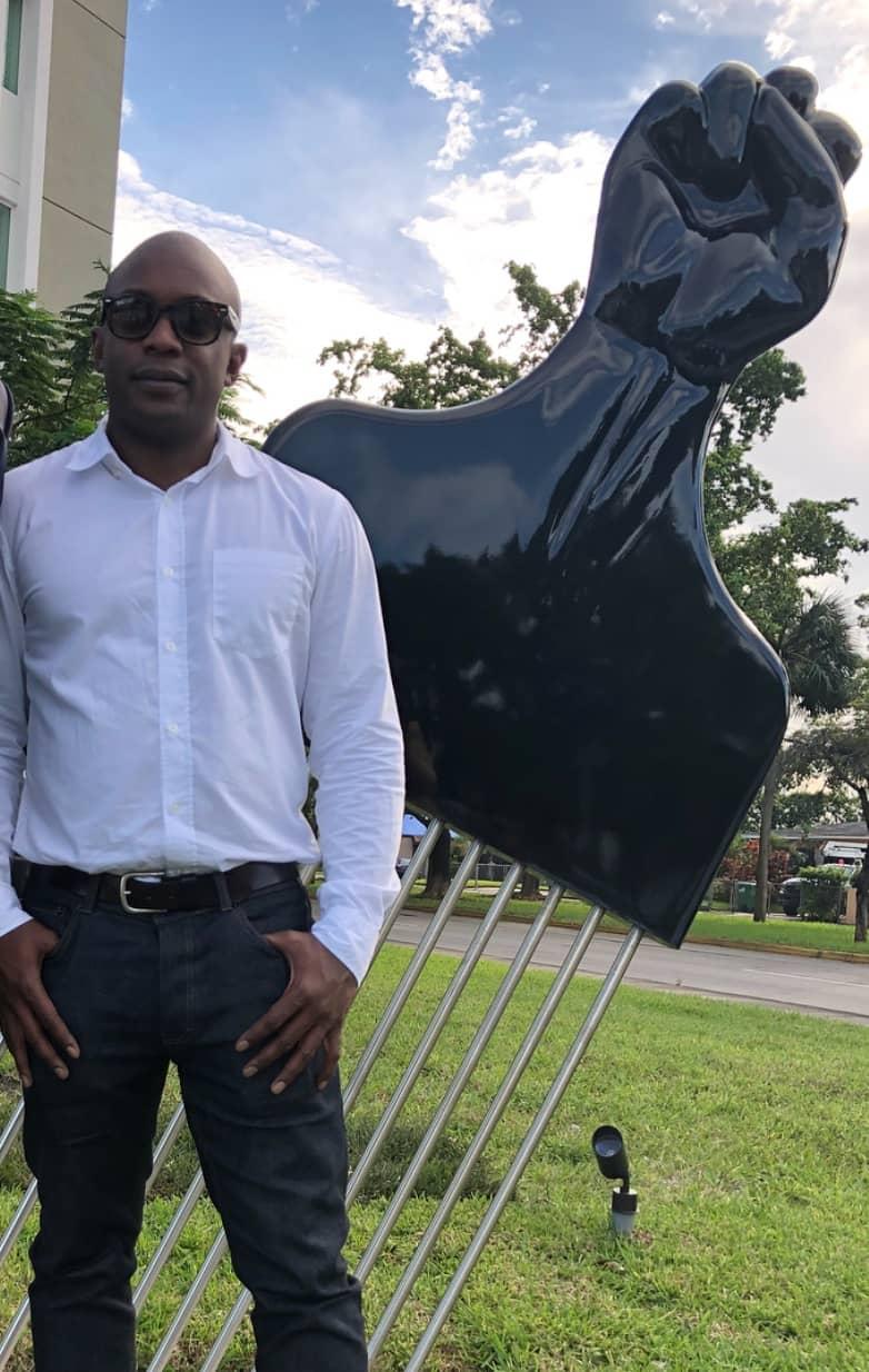 Afro Pick Dedication in Opa-Locka