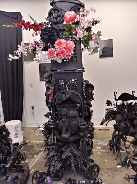 Studio Visit: T. Elliott Mansa I Can't Breathe – The Perpetuity of Mourning