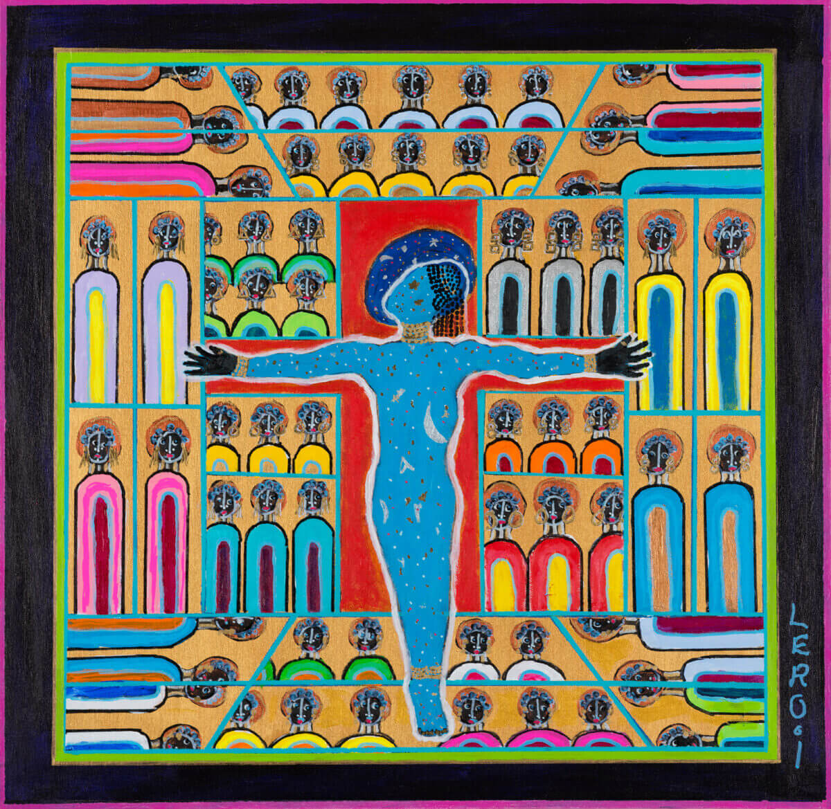 Black Art matters and artist Leroi has been a pioneer in sharing this Black Experience in order to open the minds