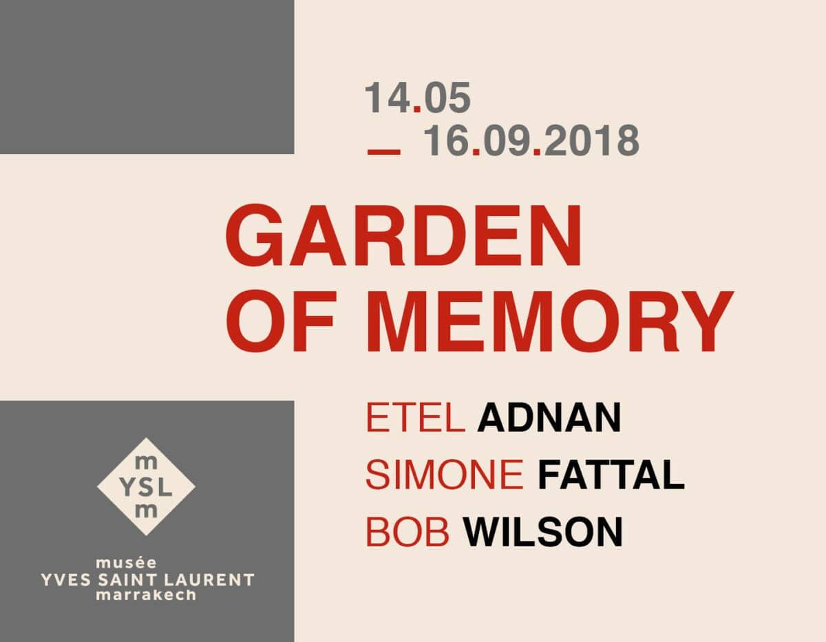 Garden of Memory at Yves Saint Laurent