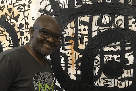 Studio Visit: The Spirit Behind the Signs with Victor Ekpuk