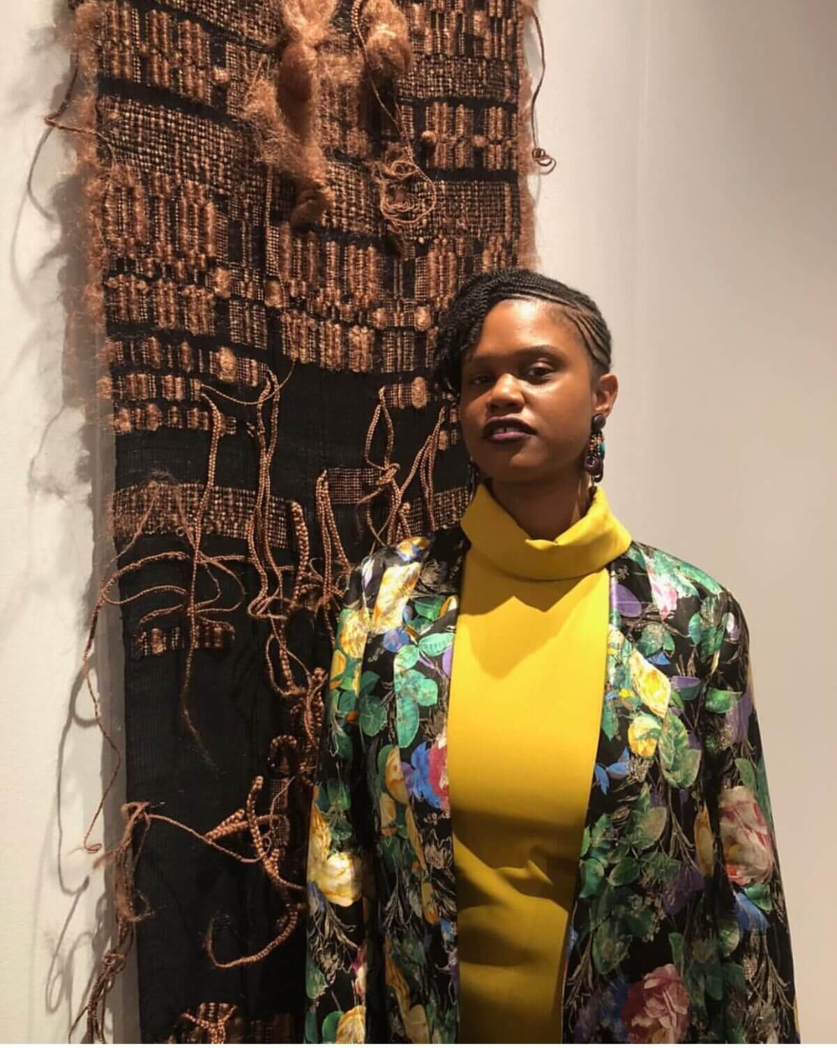 Woven Narratives: Chicago based artist SHENEQUA, pays homage to women who were instrumental in her life through the art she creates from synthetic hair by Daniel Dunson