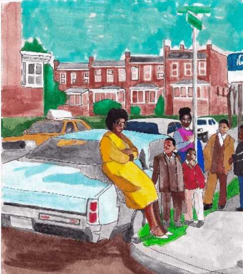 Derrick Adams Proudly Represents his Hometown of Baltimore in Upcoming Exhibit