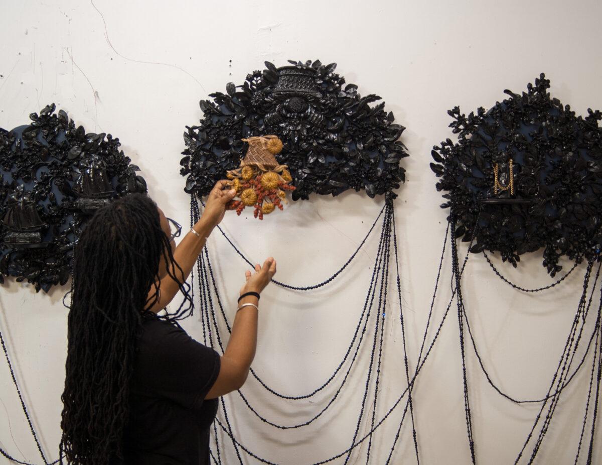Studio Visit: Vickie Pierre