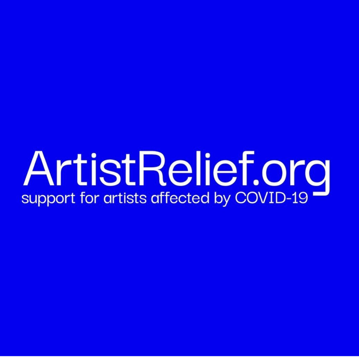 Coalition of Arts Funders Launches Emergency Artist Relief Fund