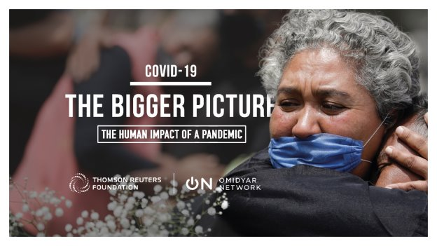 COVID-19: The Bigger Picture combines a global photography award with news coverage to document how the crisis is deepening global inequalities