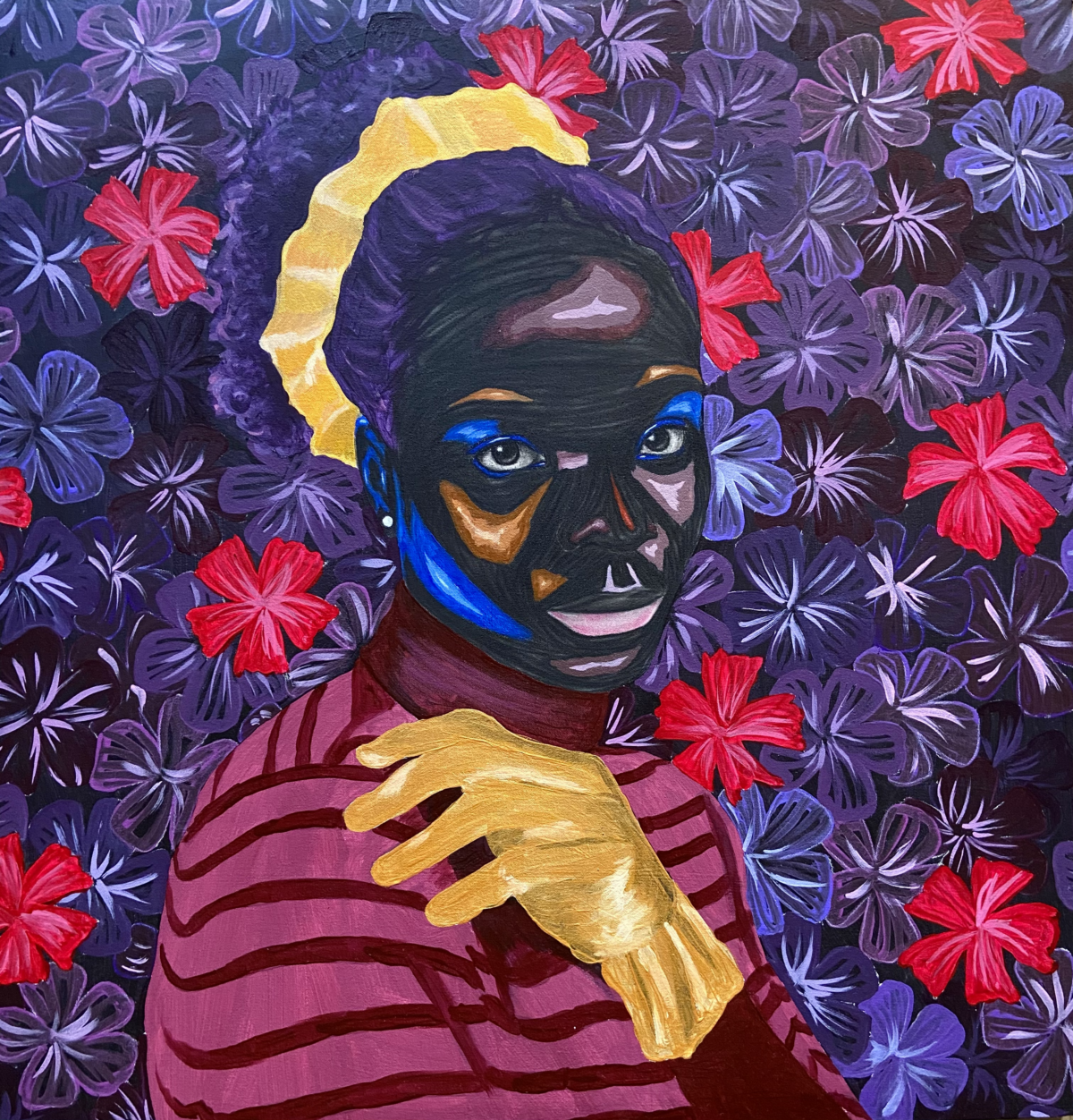 Lagos, Nigeria-based artists Adegboyega Adesina and Johnson Eziefula are brought together for a joint show by Destinee Ross-Sutton and the Ross-Sutton Gallery